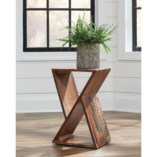 Carvalho End Table by Williston Forge