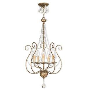 Astoria Grand Charley 5-Light Chandelier