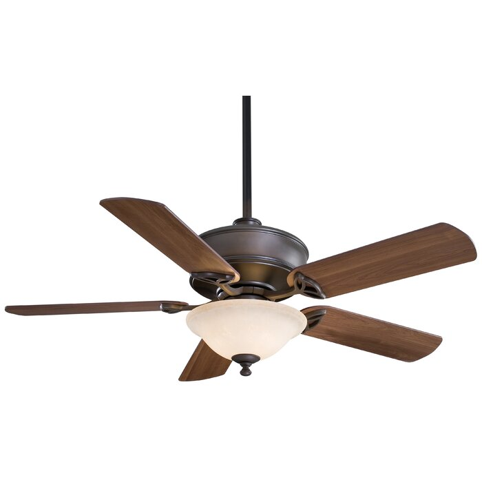 52 Bolo 5 Blade Ceiling Fan With Remote Light Kit Included