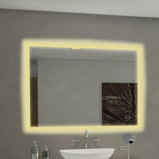 Brayden Studio Goetsch Backlit Bathroom/Vanity Mirror