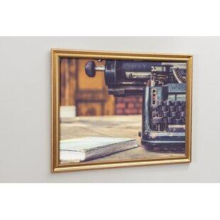 Typewriter Magnetic Wall Mounted Board By Brayden Studio
