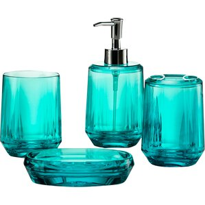 Awesome Teal Bathroom Accessories Sets Ideas - Best image 3D home ...