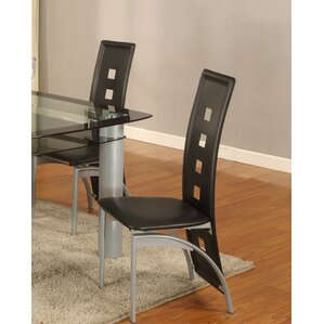 Metro Side Chair (Set of 2) by Global Trading Unlimited