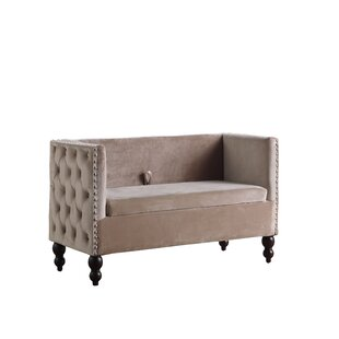 Briana Storage Settee by Charlton Home Today Sale Only