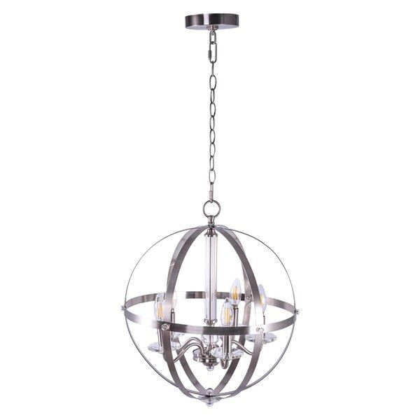 Rosdorf Park Garold 5 Light Candle Style Globe Chandelier Wayfair
