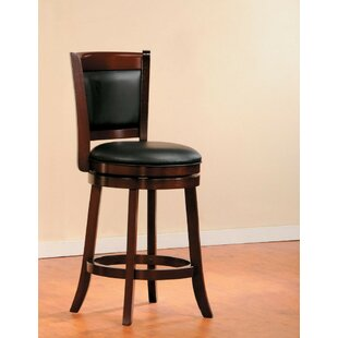 Giardina Swivel Bar Stool by Red Barrel S..