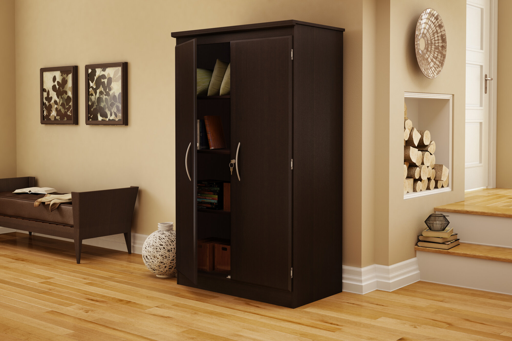 South Shore Morgan Storage Cabinet U0026 Reviews | Wayfair
