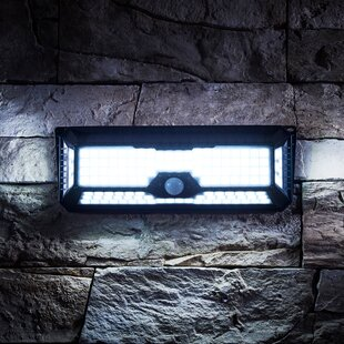 Hyuk Black Solar Powered LED Outdoor Work Light By Sol 72 Outdoor