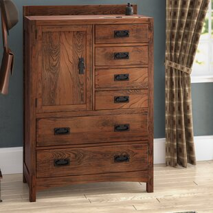 Loon Peak Castro 6 Drawer Gentleman's C..
