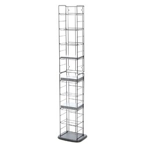 Media Folding Multimedia Wire Rack by Atlantic