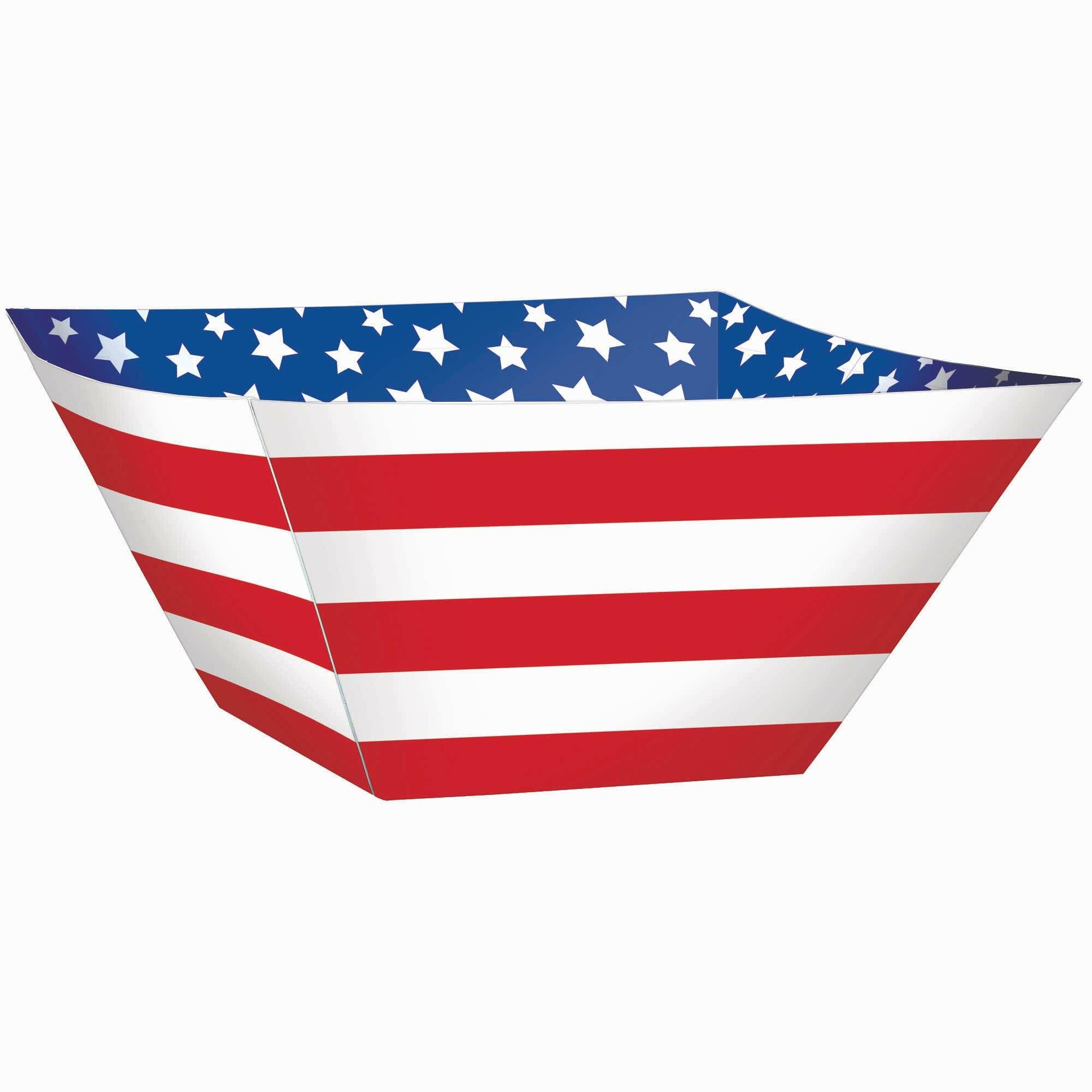 Amscan Patriotic Stars And Stripes Paper Dinner Wayfair