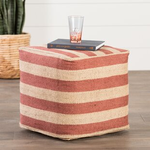 Thornton Pouf by Beachcrest Home