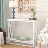 Haskins Decorative Console Table by Breakwater Bay
