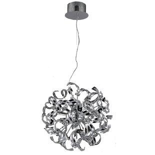 Thalassa 9-Light Globe Chandelier by Orren Ellis