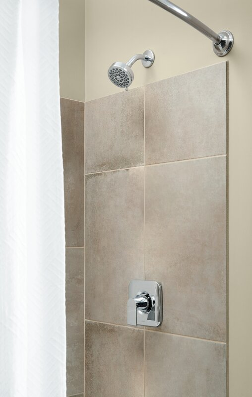 Moen Genta Shower Faucet Lever Handle with Posi-Temp & Reviews   Wayfair