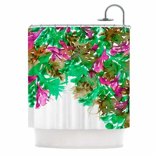 Floral VI Single Shower Curtain