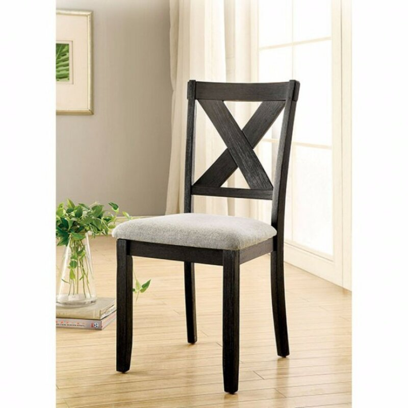 Adorable Yasmin Transitional Dining Chair Set Of 2 By