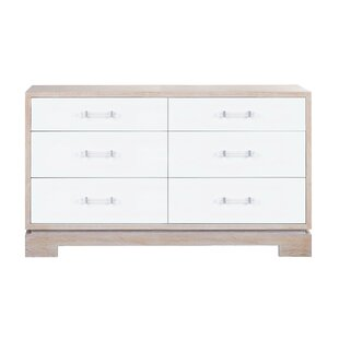 Bargain 6 Drawer Double Dresser by Worlds Away