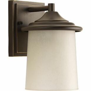 Crestside 1 Light Outdoor Wall Lantern By World Menagerie Outdoor Lighting