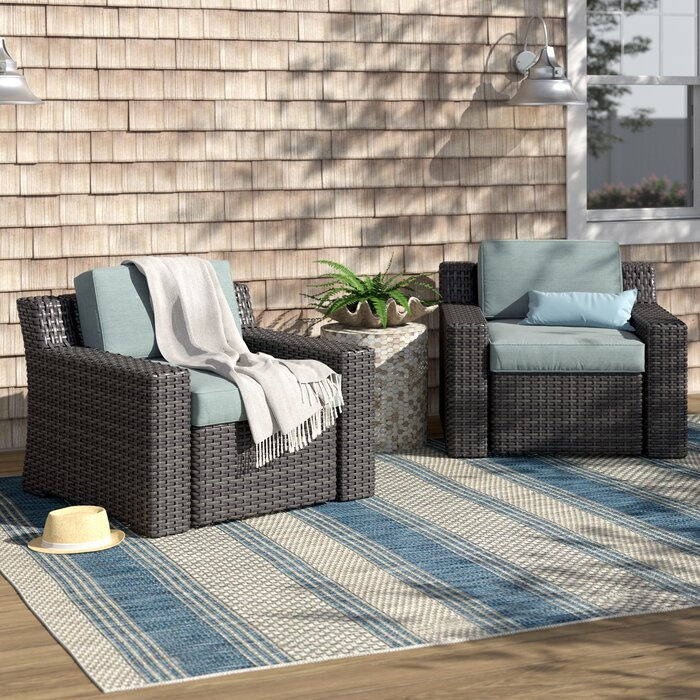 Linwood Deep Seating Patio Chair With Cushions