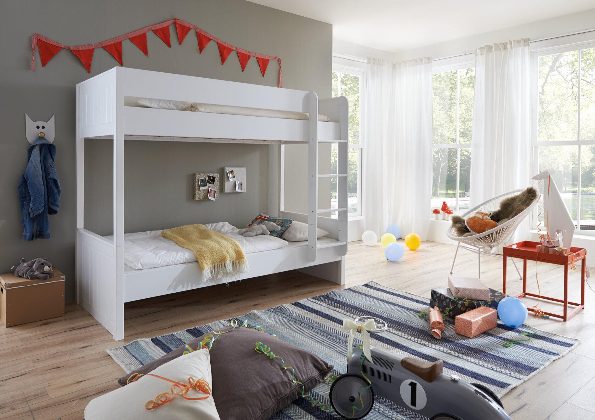 Etagenbett Rene : Etagenbett rene: moderne etagenbetten für mehr platz im kinderzimmer