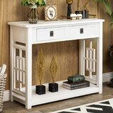 Creola 36 Solid Wood Console Table by Longshore Tides