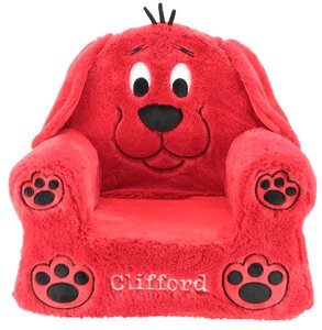 Outstanding Animal Adventure Clifford Kids Chair Theyellowbook Wood Chair Design Ideas Theyellowbookinfo