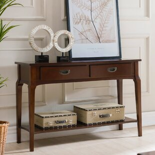 Jacobsen 2 Drawer Console Table By Charlton Home