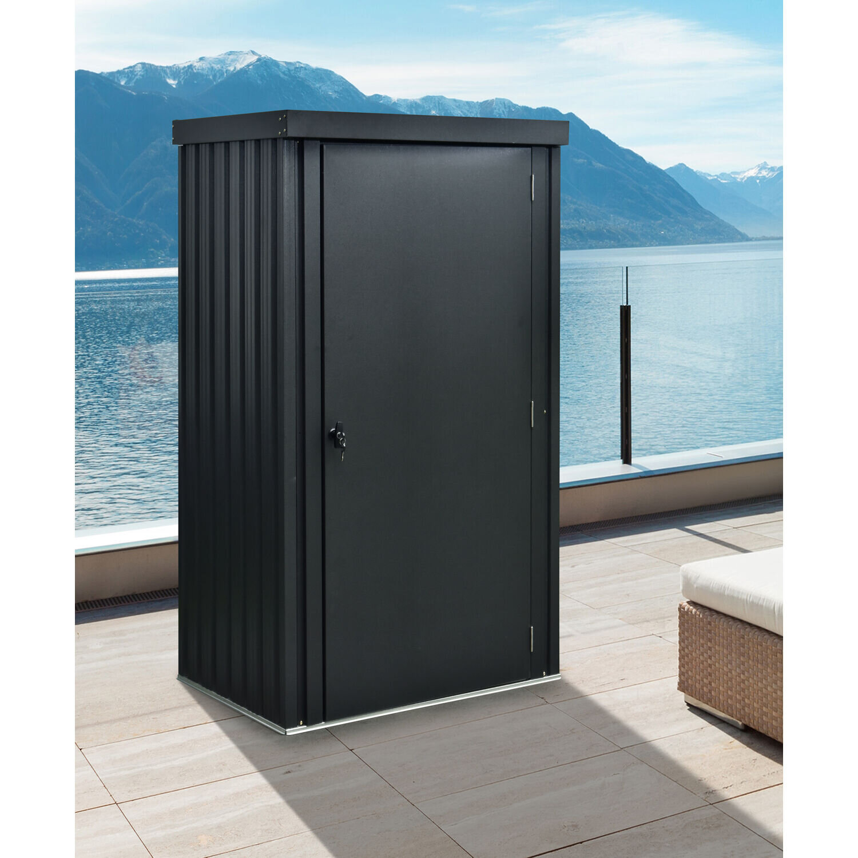Hanover 3 Ft W X 3 Ft D Metal Vertical Storage Shed Wayfair