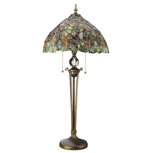 Croton Leaves 33 Table Lamp
