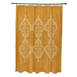 Soluri Print Shower Curtain by Bungalow Rose