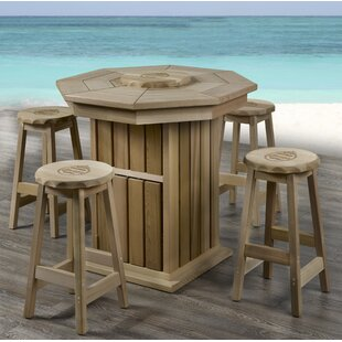 5 Piece Pub Table Set Corona