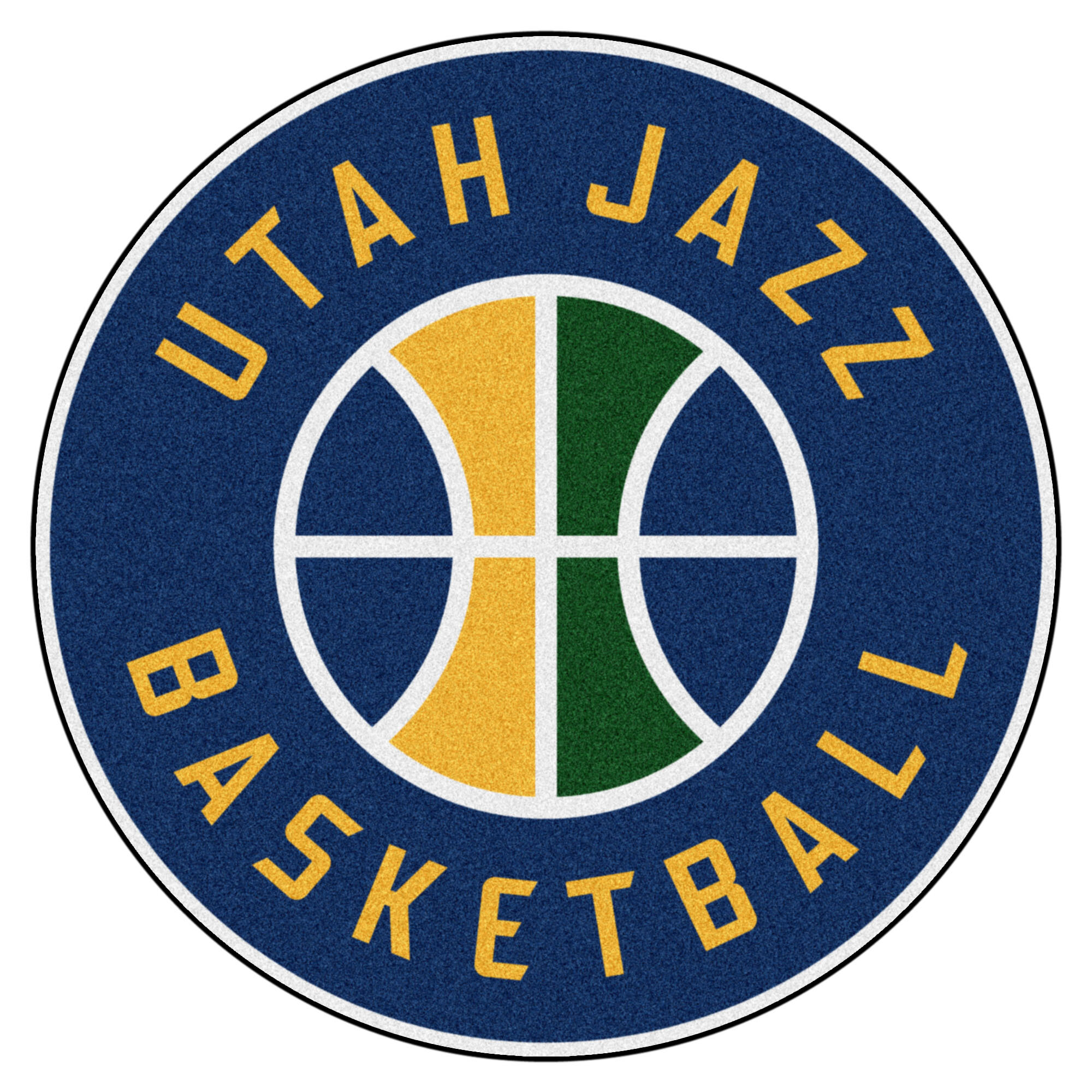 f76fcd556456 FANMATS NBA Utah Jazz Roundel Mat