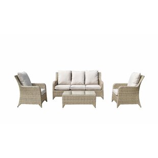 Saskia 5 Seater Rattan Sofa Set By Hokku Designs