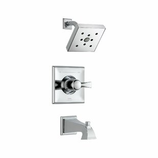 Shop For Dryden Pressure Balance Tub and Shower Trim with Monitor By Delta
