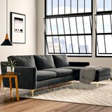 Modern Extra Deep Over 35 Sectional Sofas Allmodern