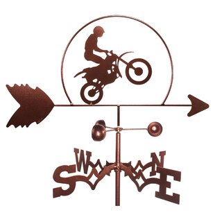 Dirt Bike Motorcycle Weathervane By SWEN Products