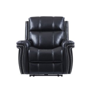Darby Home Co Leal Headrest Power Recliner