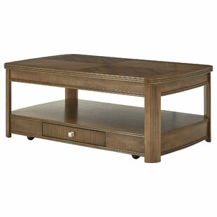 Manel Lift Top Floor Shelf Coffee Table With Storage By Charlton Home