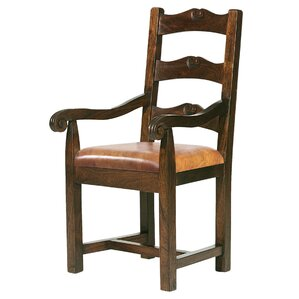 Tuscan Genuine Leather Upholstered Dining Chair ..