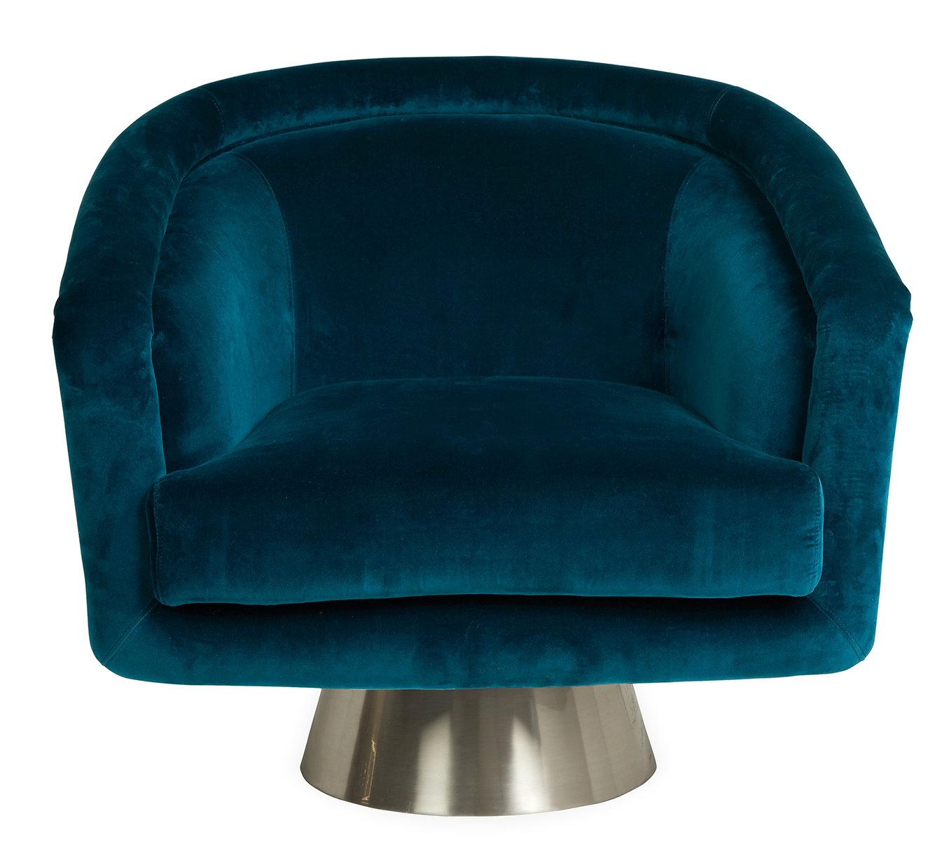 Bacharach Swivel Barrel Chair Reviews Allmodern