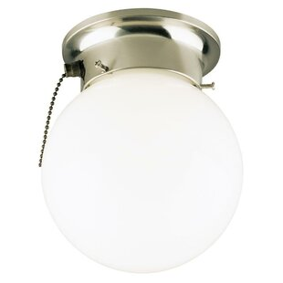 Compare prices 1-Light Flush Mount By Westinghouse Lighting