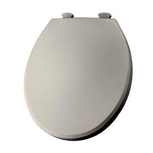 Bemis Lift-Off Plastic Round Toilet Seat