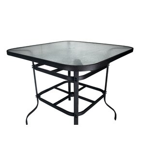 Darby Home Co Isola Aluminum Top Bar Table