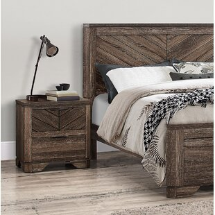 Union Rustic Lyle 2 Drawer Nightstand