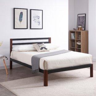 platform beds with storage. Damaris Wood Slat And Metal Platform Bed Platform Beds With Storage
