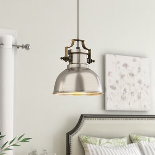 Jules 1-Light Dome Pendant by Laurel Foundry Modern Farmhouse
