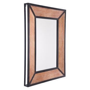 Latitude Run Sarno Metal Accent Mirror