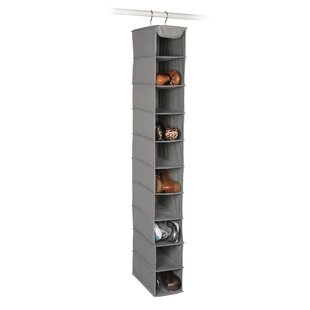 Expressive Home 10-Compartment Hanging Shoe Organizer By Richards Homewares