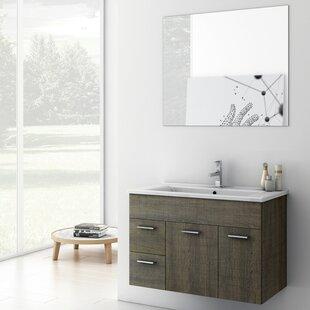 Loren 24 Single Bathroom Vanity Set